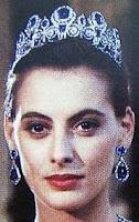Queen Marie Amelie of France Sapphire Tiara Ines de La Fressange