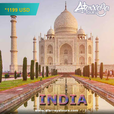 India 6 noches 7 dias  Tour Triángulo de Oro