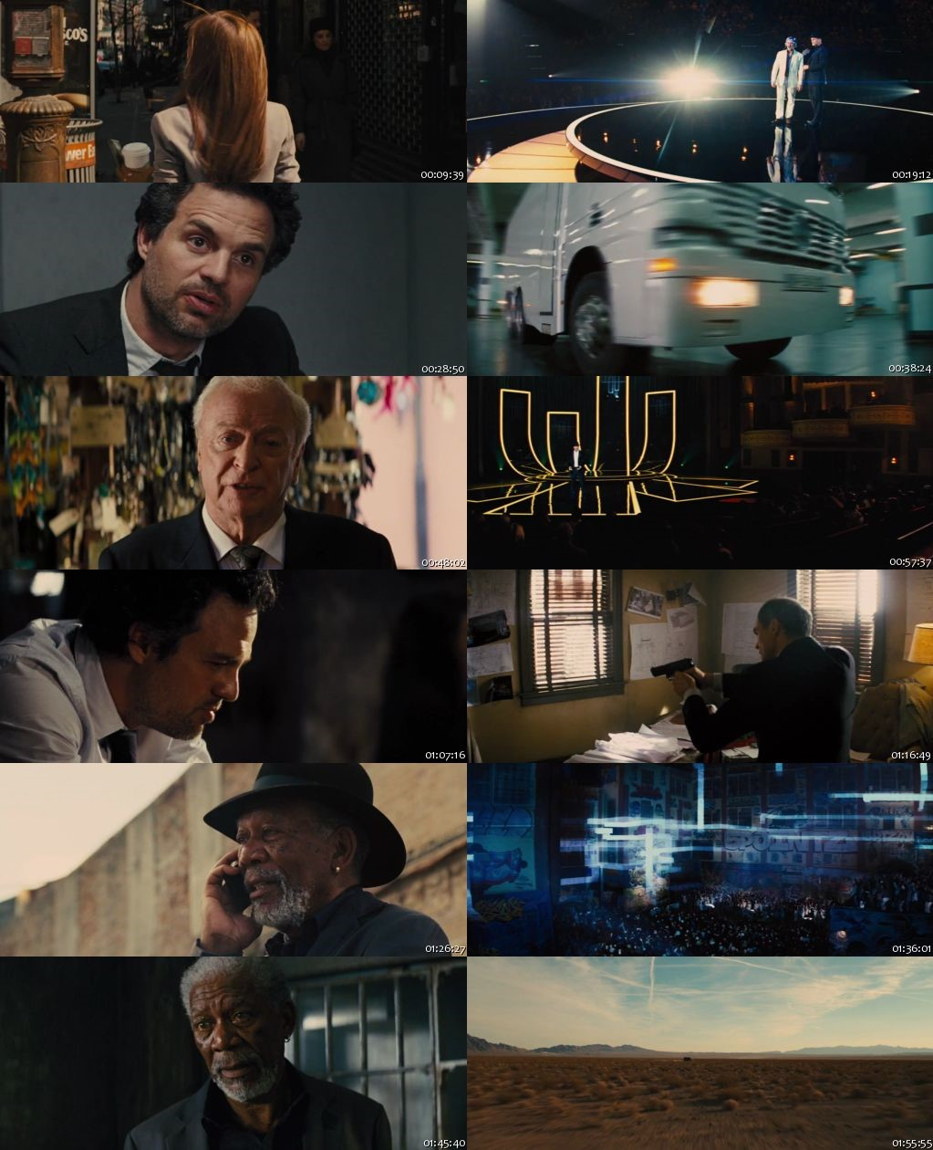 Now You See Me 2013 BRRip 720p Dual Audio