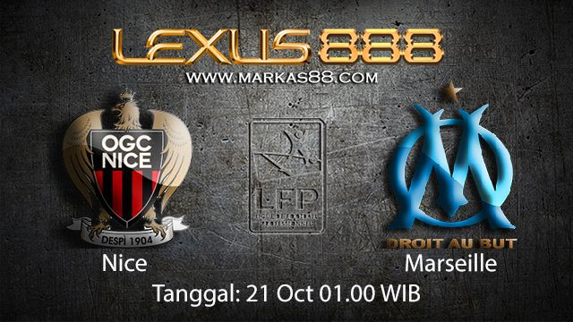 Prediksi Bola Jitu Nice vs Marseille 21 Oktober 2018 ( French Ligue 1 )