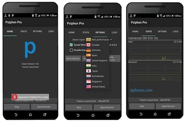 Psiphoen Pro Mod Apk v262 2020