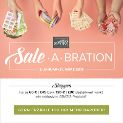 Endlich Sale-a-Bration!