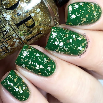 opi Gold Key to the Kingdom holiday 2018 the nutcracker and the four realms review