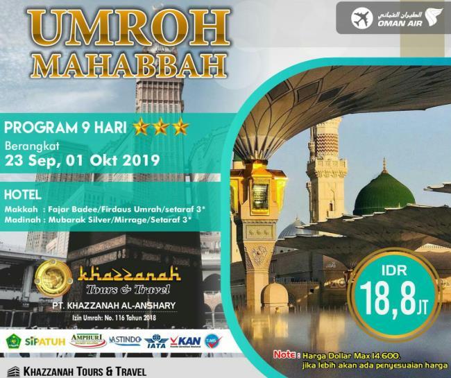 Travel Umrah Khazzanah Tour