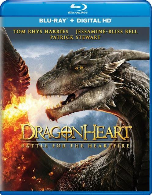 Dragonheart: Battle for the Heartfire (Corazón de Dragon: La Batalla por el Fuego del Corazón) (2017) 720p y 1080p BDRip mkv Dual Audio DTS 5.1 ch