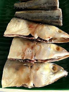 kepala ikan asin