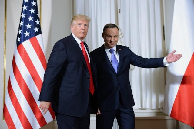 Трамп приїде до Польщі