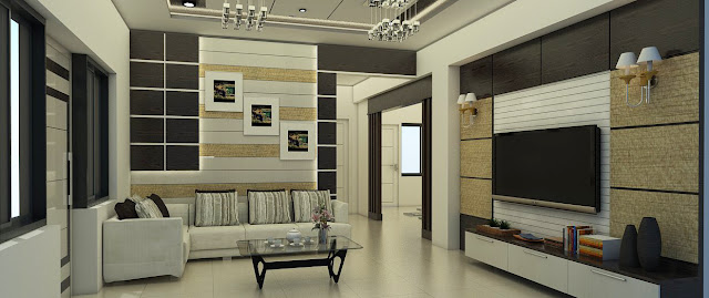 Interior Design For Living Room - Happy Homes Designers