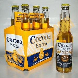 Log 6 chai bia Corona Extra
