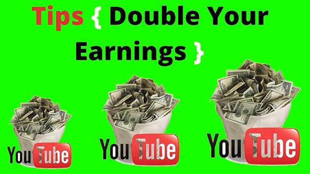 أفضل طريقة مضاعفة أرباح اليوتيوب
