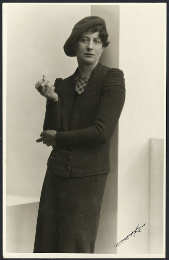 Ngaio Marsh pictured in 1935,  early in her writing career