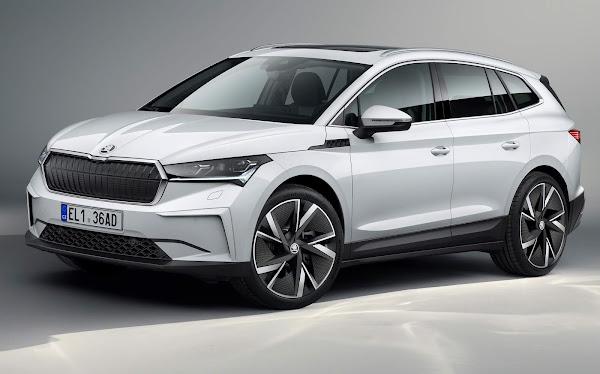 Škoda Enyaq iV elétrico à venda na Europa por € 39.000