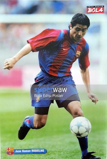 Poster Juan Riquelme (FC Barcelona)