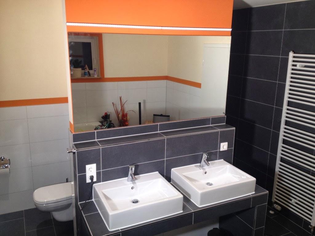 HuM\'s Baublog: Badezimmer Spiegelbeleuchtung