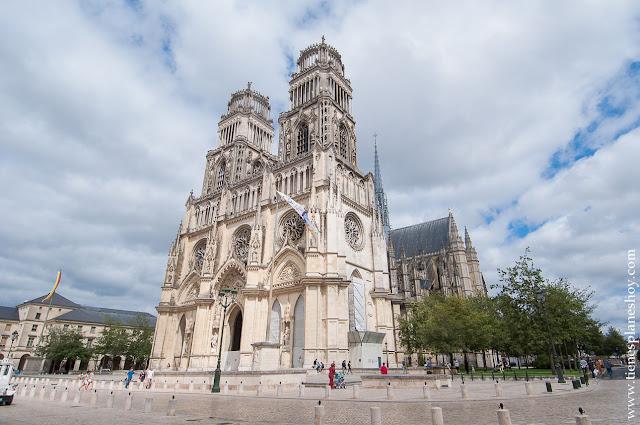Catedral Orleans visitar turismo francia ciudades monumentales Loira
