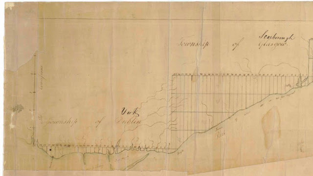 Fort York and Garrison Common Maps 1791 Jones An accurate Plan