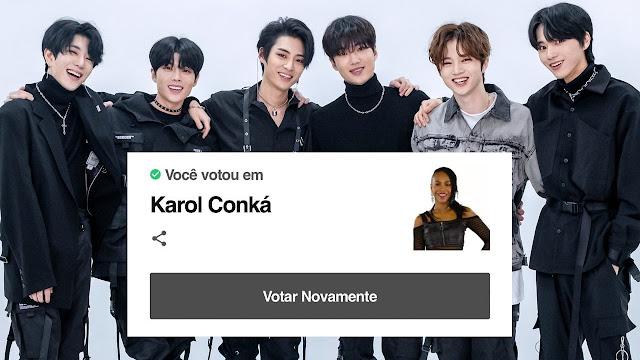 BLACK6IX: o grupo de k-pop que é #ForaKarol no BBB21