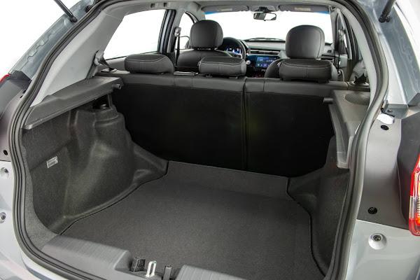 Caoa Chery Tiggo 3X Turbo 2022  - espaço porta-malas 420 L