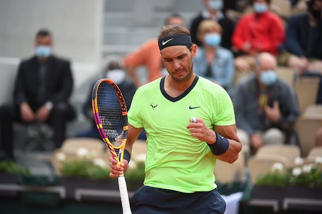 Rafael Nadal chegou a 103 vitórias em Roland Garros