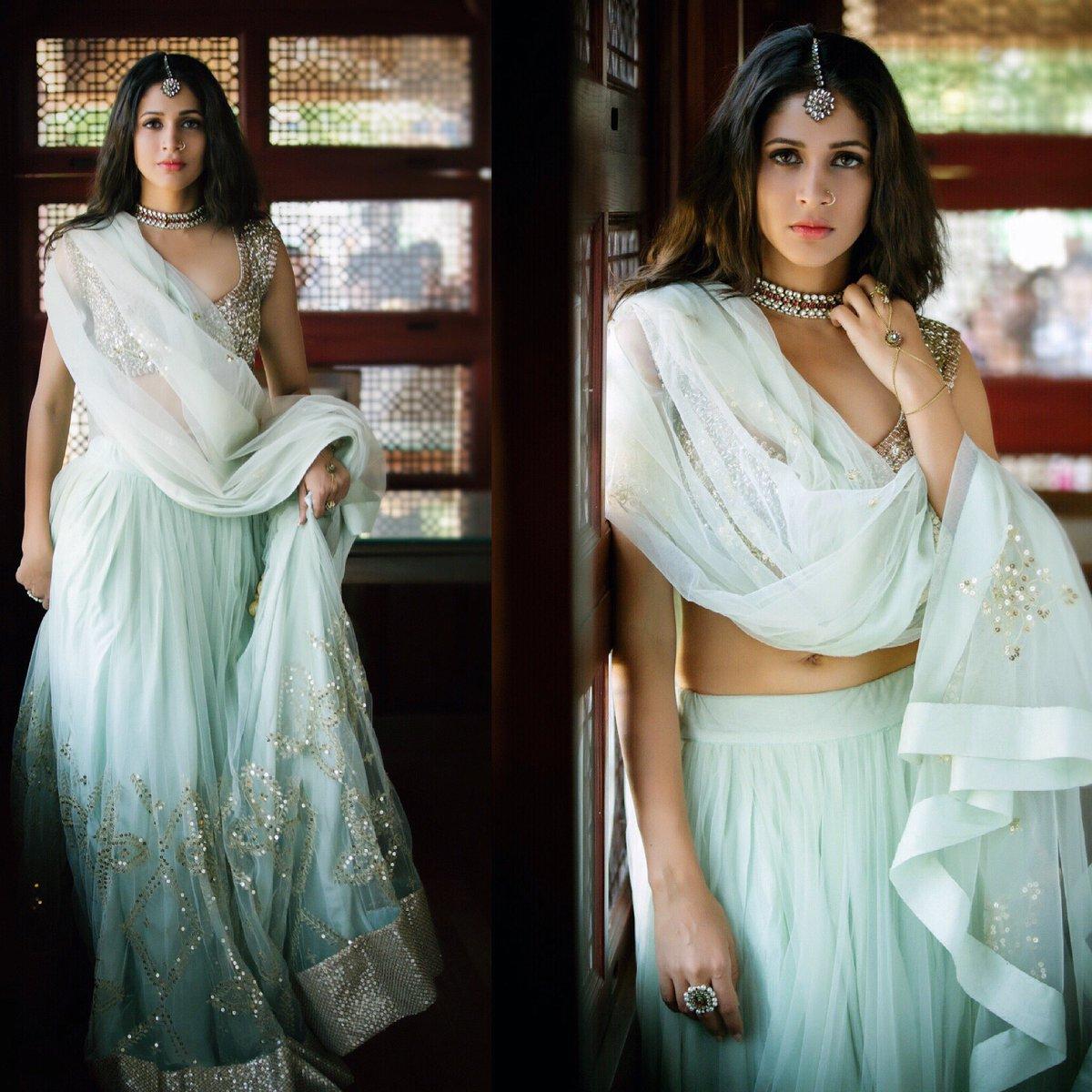 fa9376af7e Lavanya Tripathi In Anushree reddy & Prathyusha Garimella ~ Stars Outfit