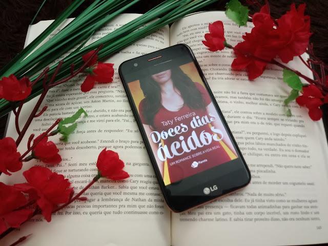 Livro Doces dias ácidos - Tatiana Ferreira