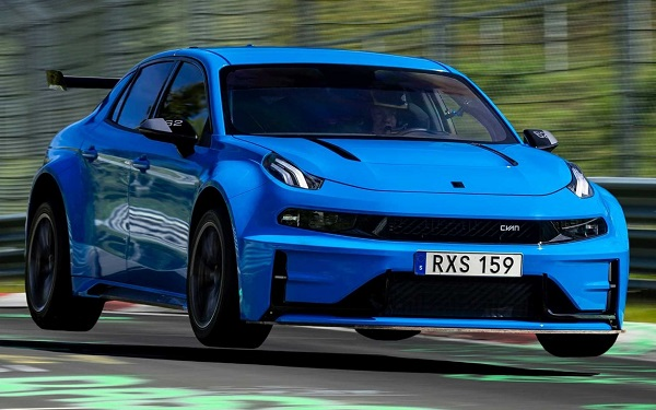 Lynk & Co 03 Cyan Concept récord Nurburgring Nordschleife