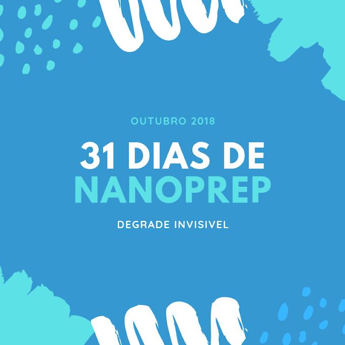 31 dias de NaNoPrep