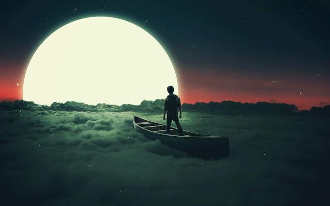 Sonho Navegando sobre as Nuvens