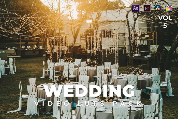 Wedding Pack Video LUTs Vol.5