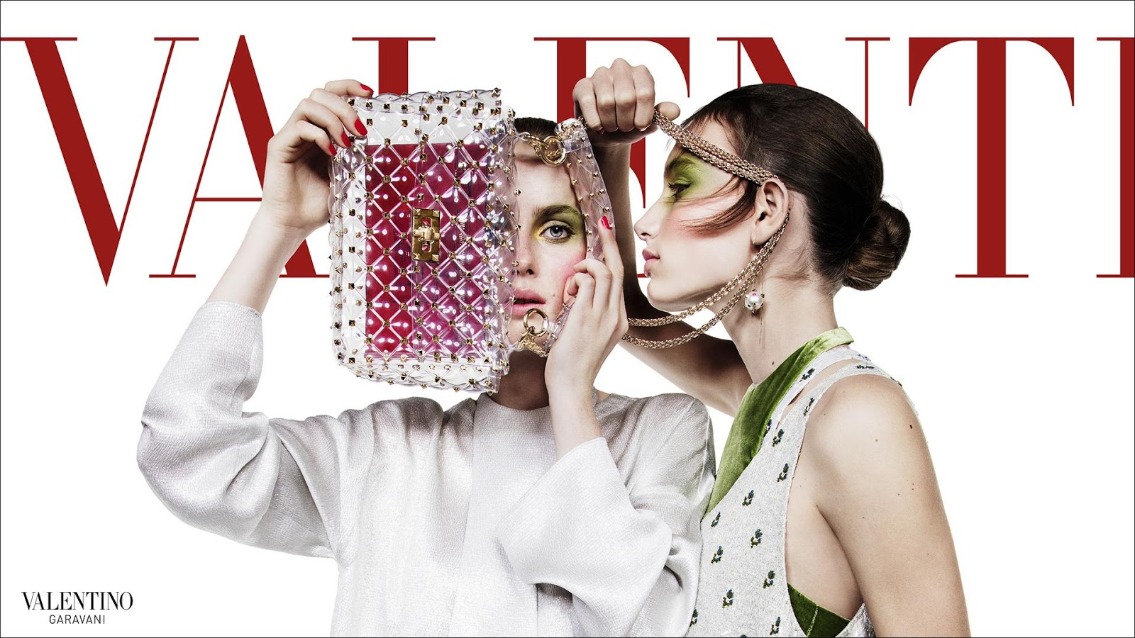 Valentino Spring Summer 2018 Ad Campaign by Inez & Vinoodh