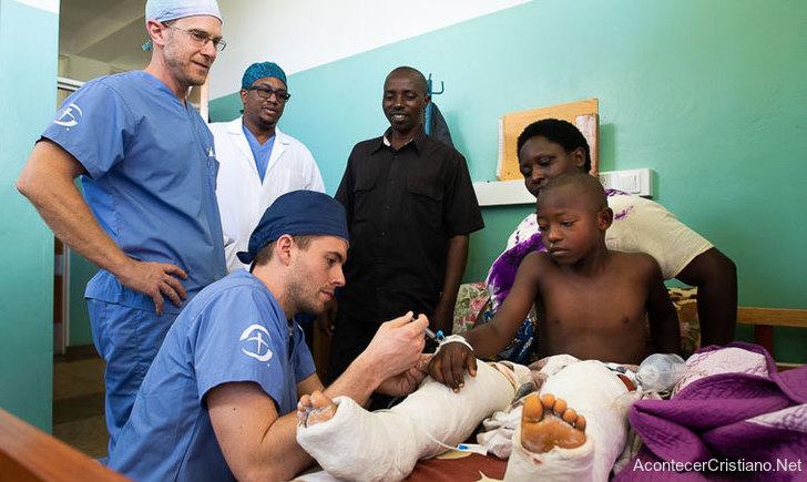 Médicos misioneros en Burundi, África