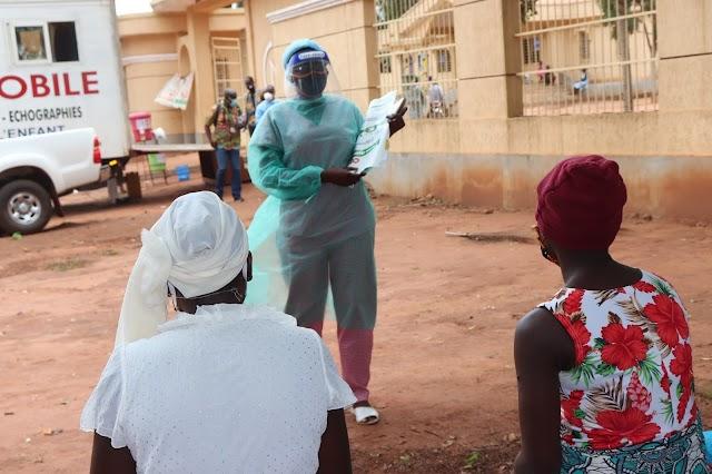 DOSSIER: A Kovié, les femmes enceintes, grâce à la clinique mobile, bénéficient d'une échographie une fois tous les trois mois