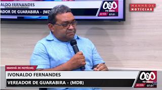 Nal diz que oposição tem méritos na entrega das casas em Guarabira