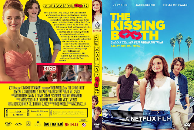 The Kissing Booth DVD Cover
