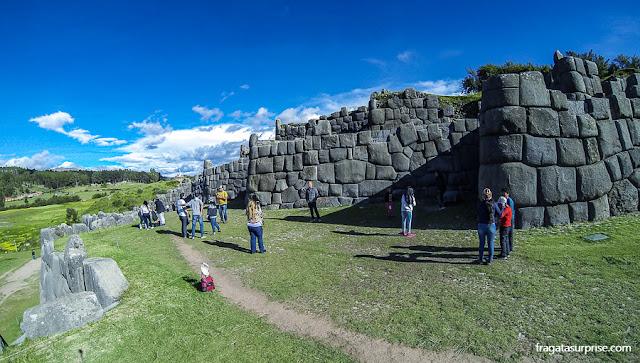 Templo de Saqswayamán, Cusco, Peru
