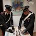 Polignano a Mare (Ba). I Carabinieri arrestano due coniugi insospettabili con 6 etti di hashish e 850,00 euro in contanti