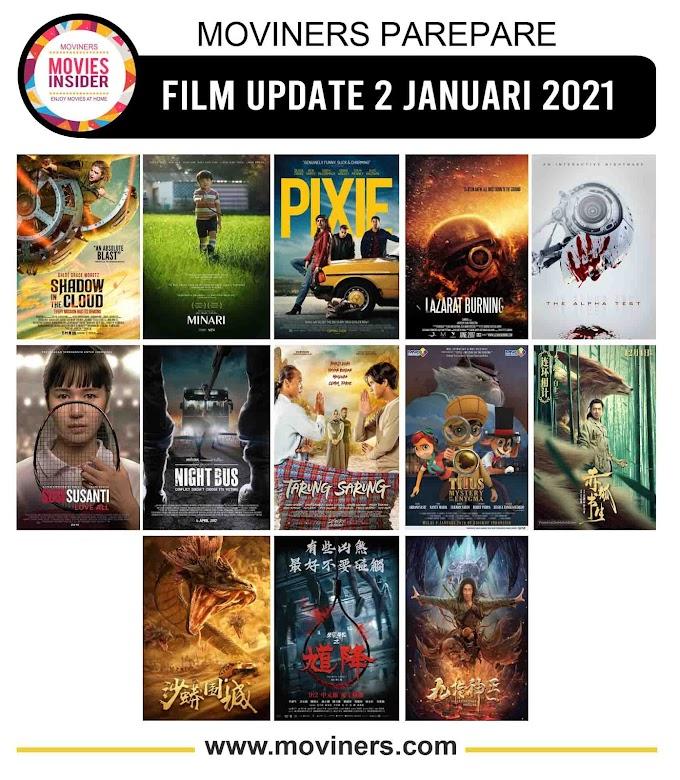FILM UPDATE 2 JANUARI 2021