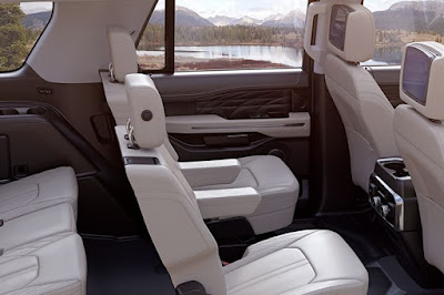 2019 Ford Expedition Platinum Interior