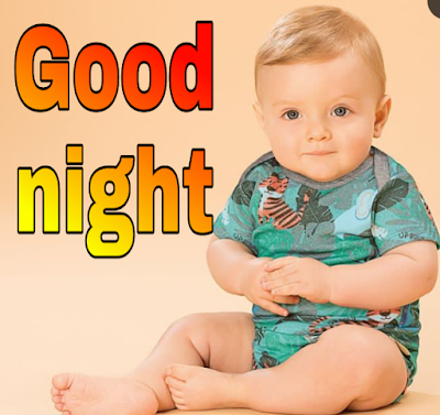 cute baby good night image pics photo very high quality