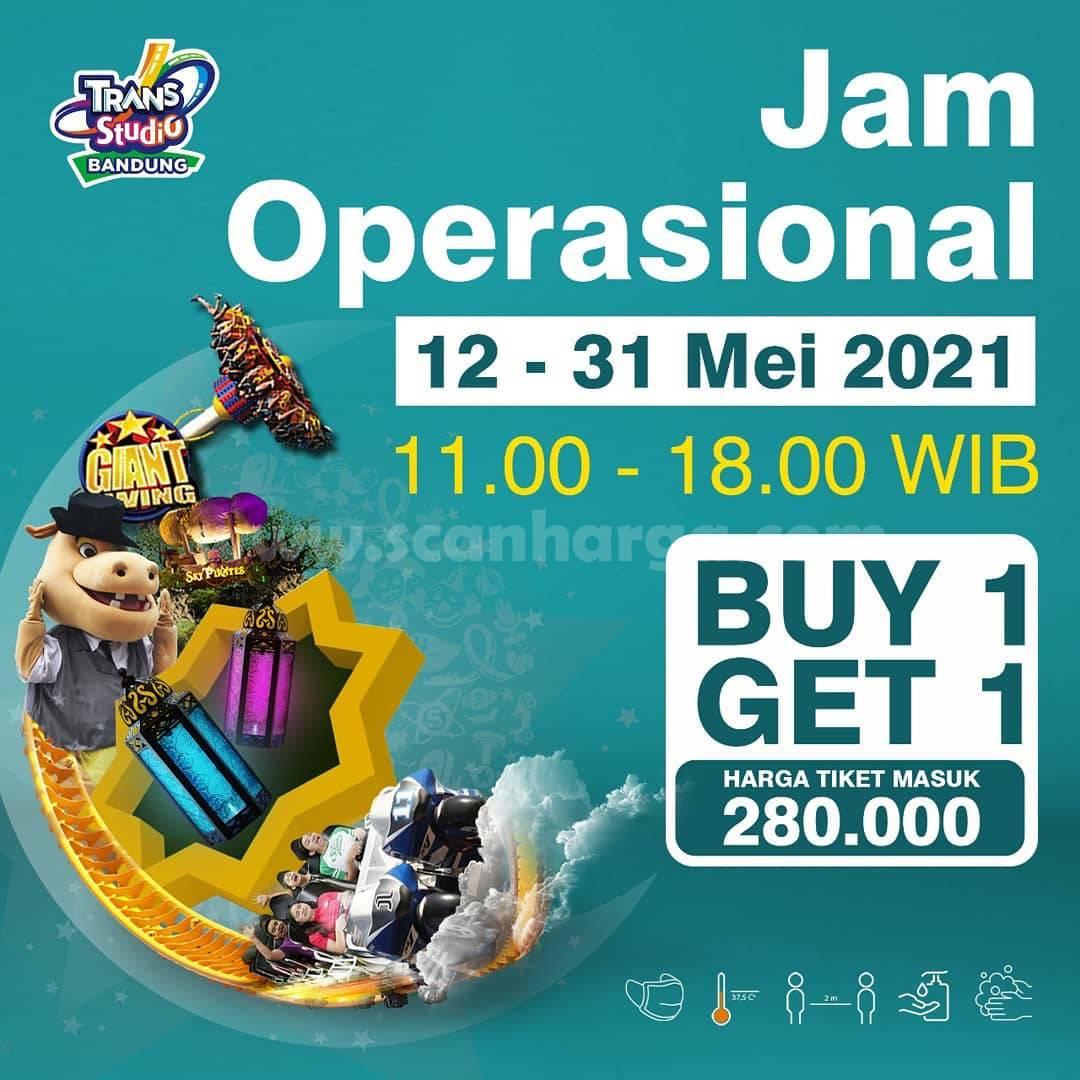 Promo Trans Studio Bandung BELI 1 GRATIS 1