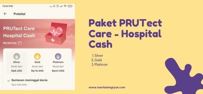 paket PRUTect Care - Hospital Cash