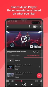Free music player for YouTube: Stream v2.15.00 (Pro) Mod Apk