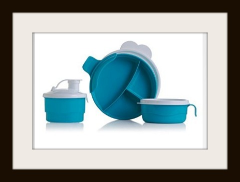 Tupperware Baby Stages Feeding Set