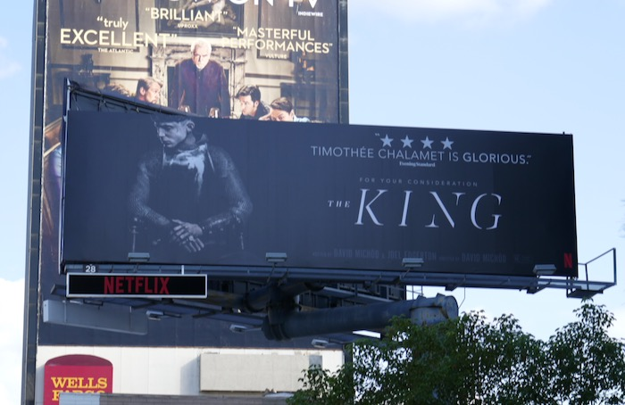 King movie FYC billboard
