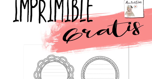 Imprimible gratis para tu bullet journal