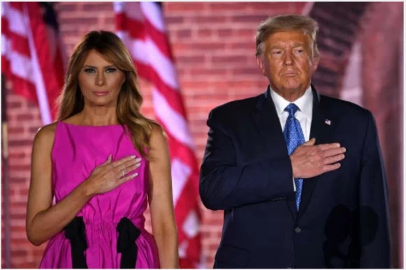US first lady defends Trump over alleged 'loser' recovery