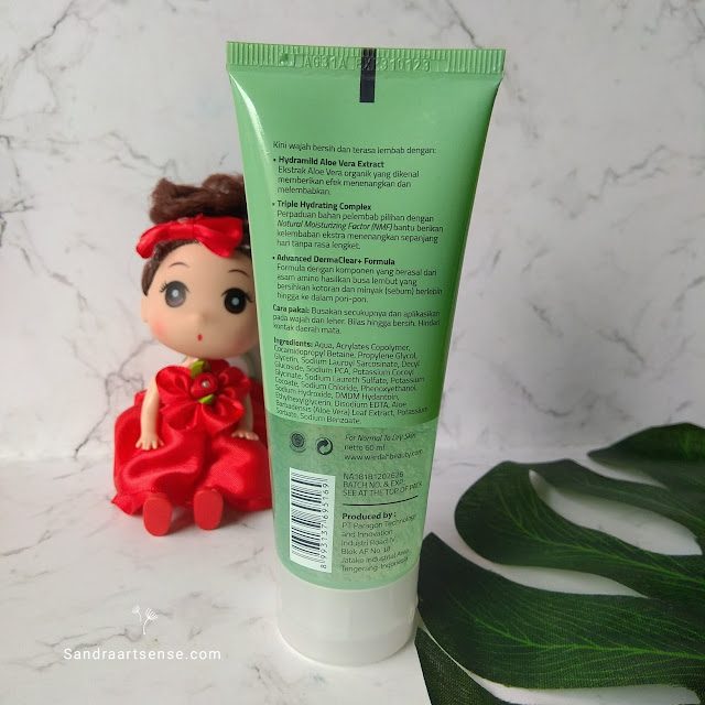 Review Wardah Aloe Hydramild Facial Wash