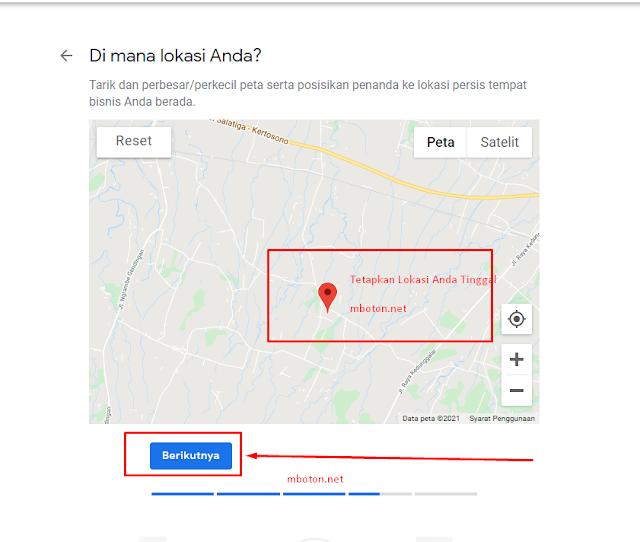 Tepatkan Google Bisnis dengan Google maps