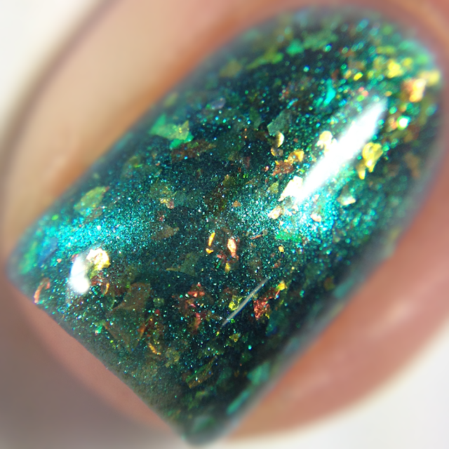 DRK Nails-Turquoise Attraction