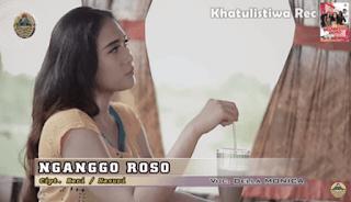 Lirik Lagu Nganggo Roso (Dan Artinya) - Della Monica